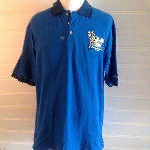 Walt Disney men's polo short sleeve shirt (NWT)